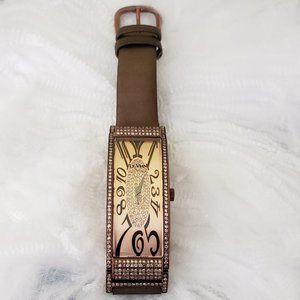 COPY - 2 1/8 CT  LeVian Chocolate Diamond Watch Z…